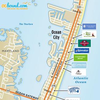 Maps of Ocean City, MD - Ocean City, MD | OCbound com