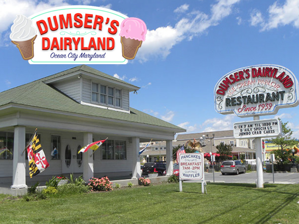 Dumser's Dairyland Ocean City MD