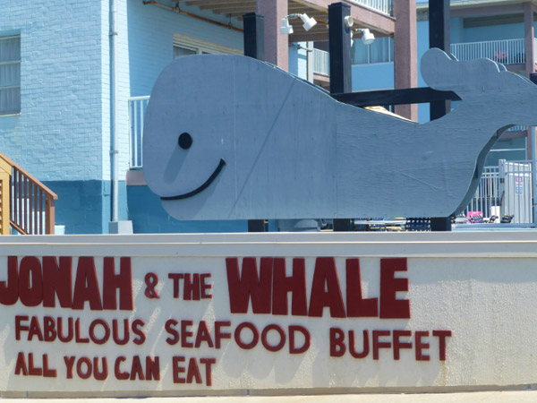 Jonah and the Whale - All you can eat seafood buffet Ocean City MD