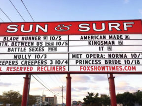 Sun Surf Movie Theater Ocean City, MD