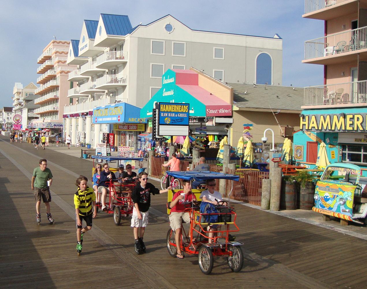 ocean city md boardwalk 04 png ocean city  md ocbound com