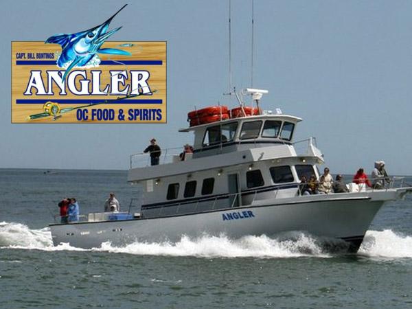 The Angler Dolphin Cruises Ocean City MD