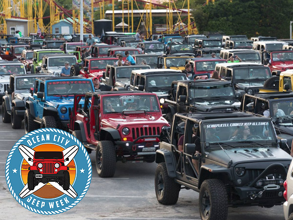 Jeep Week Ocean City MD