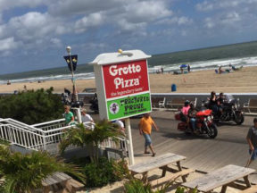 Grotto Pizza on the Boardwalk Ocean City MD