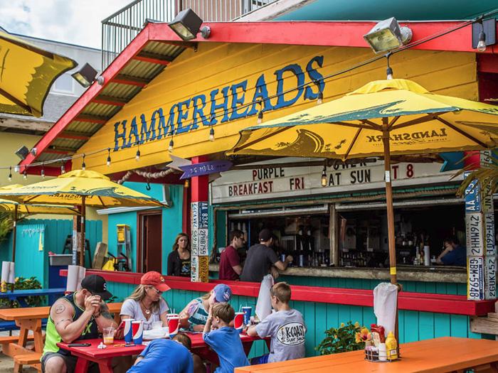 Hammerheads On The Beach Ocean City MD