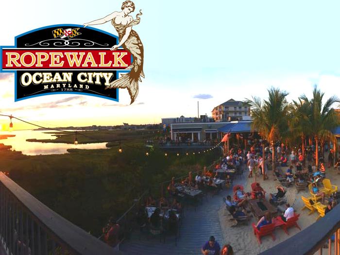 Ropewalk Bayside Restaurant Ocean City MD