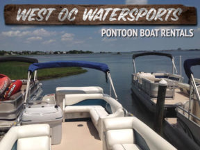 West Oc Watersports Pontoon Boat Rentals Ocean City MD
