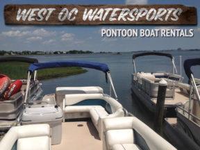 West Oc Watersports Pontoon Boat Rentals Ocean City MD