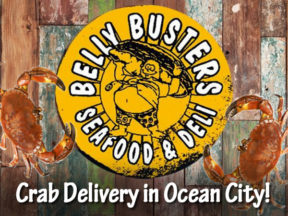 Crab Delivery Belly Busters Seafood and Deli Ocean City Maryland